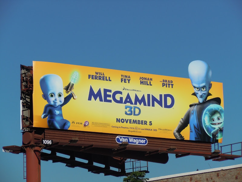 Megamind movie billboard