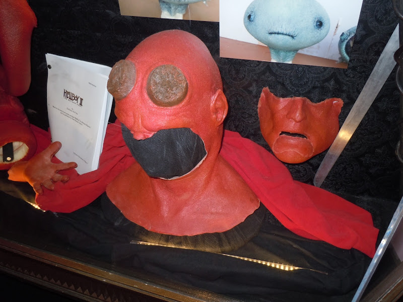 Hellboy prosthetic makeup