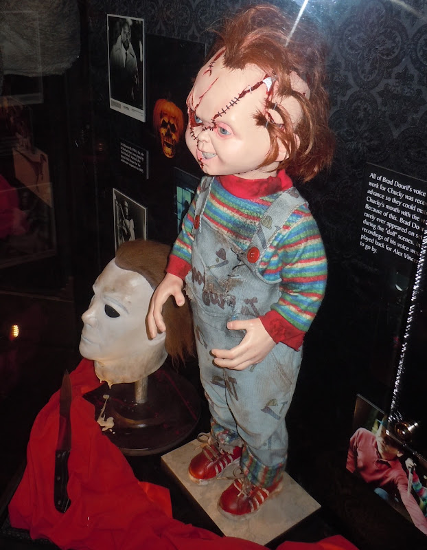 Chucky Child's Play horror exhibit