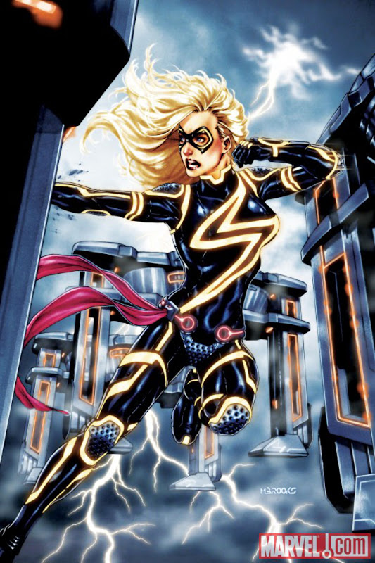 Ms Marvel Tron cover