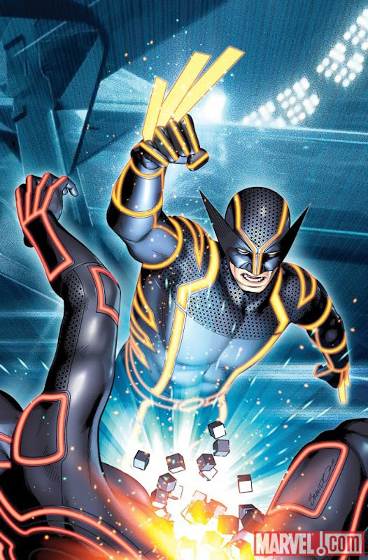 Wolverine Tron cover