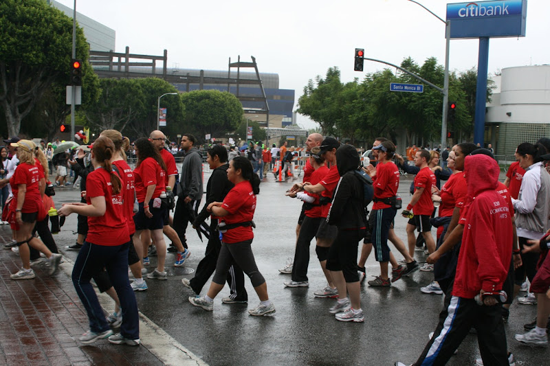 T2 training AIDS Walk 2010