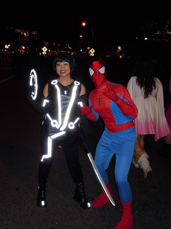 West Hollywood Halloween Tron Legacy costume