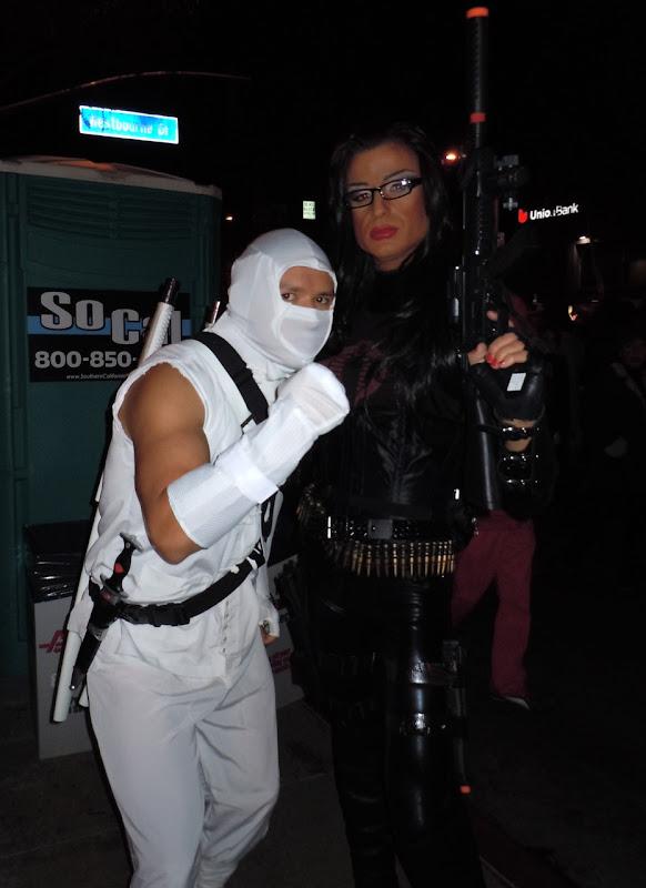 West Hollywood Halloween GI Joe villains