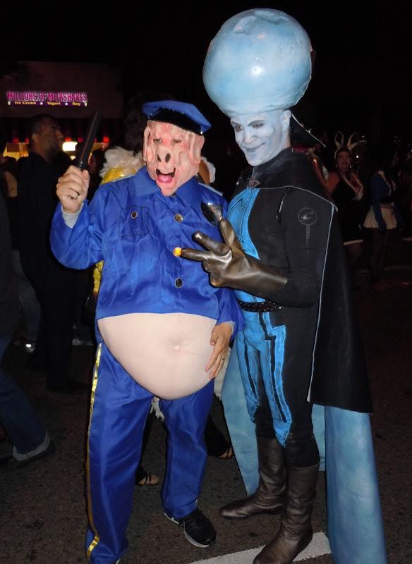 Megamind West Hollywood Halloween Carnaval