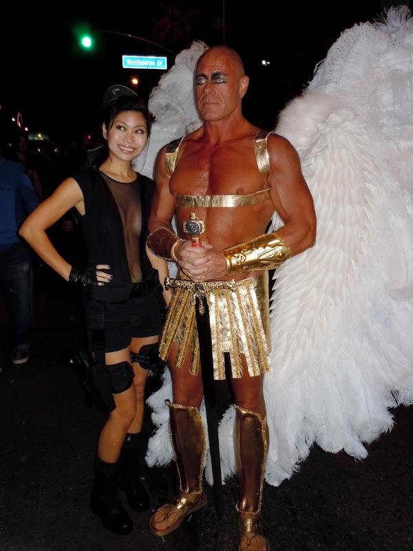 West Hollywood Halloween Archangel