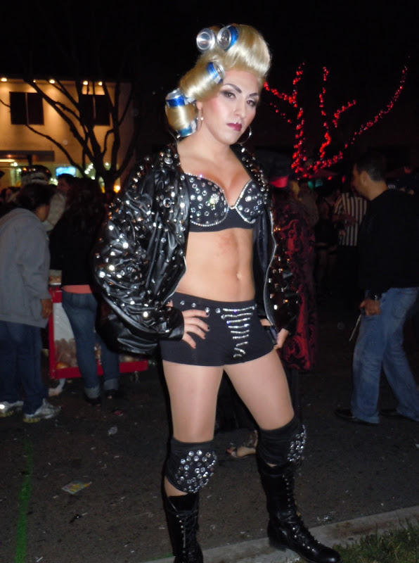 West Hollywood Halloween Carnaval Lady Gaga 2010
