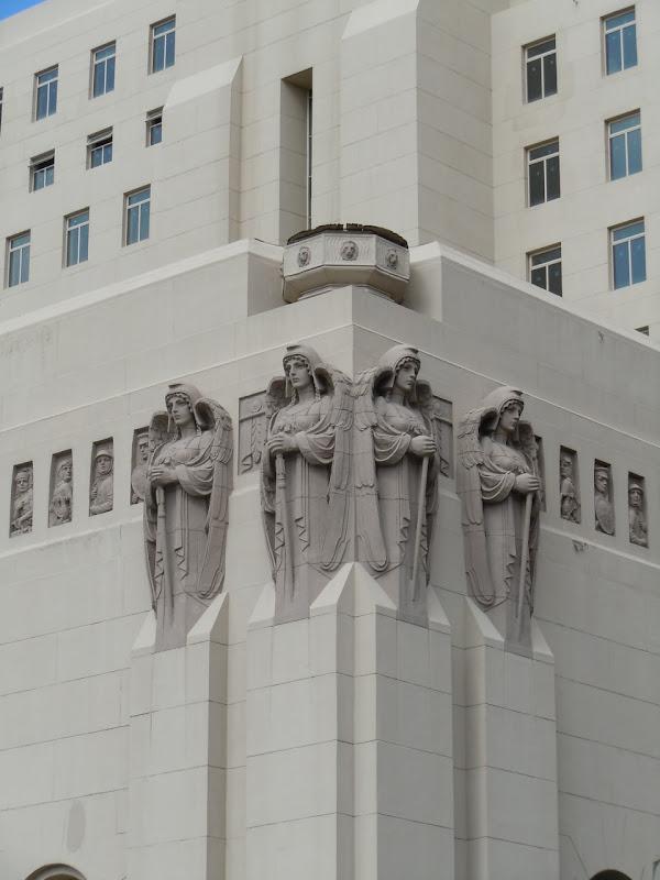 Park Plaza Hotel Art Deco angels