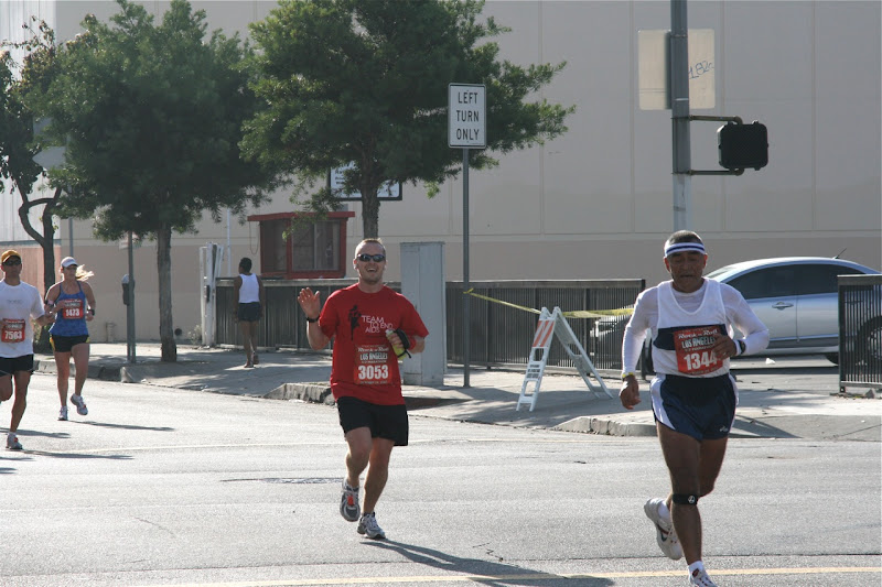 Jason at Rock n Roll LA Half Marathon