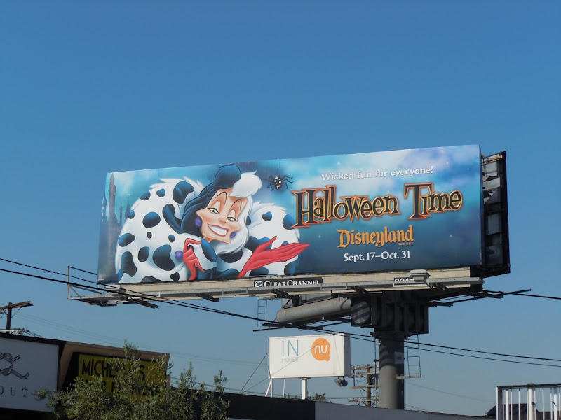 Cruella De Vil billboard
