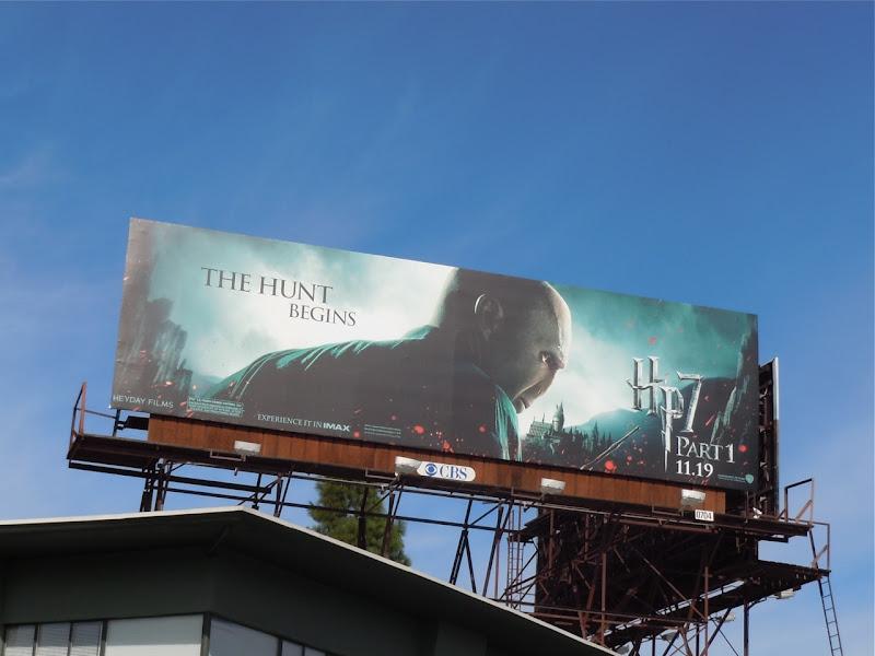 Voldemort Harry Potter 7 movie billboard