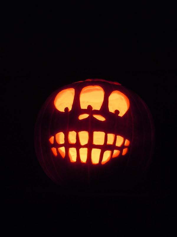 Halloween pumpkin Jack O' Lantern 2010