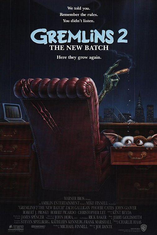 Gremlins 2 movie poster