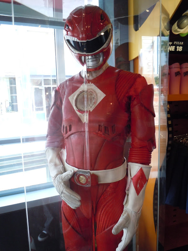 Power Rangers movie red costume