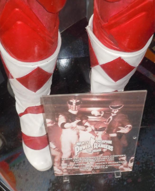 Power Rangers movie costume display
