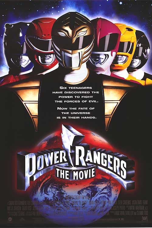Mighty Morphin Power Rangers movie poster