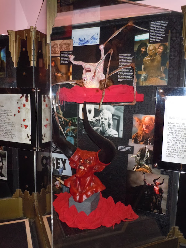 Rob Bottin Legend and The Thing creature display