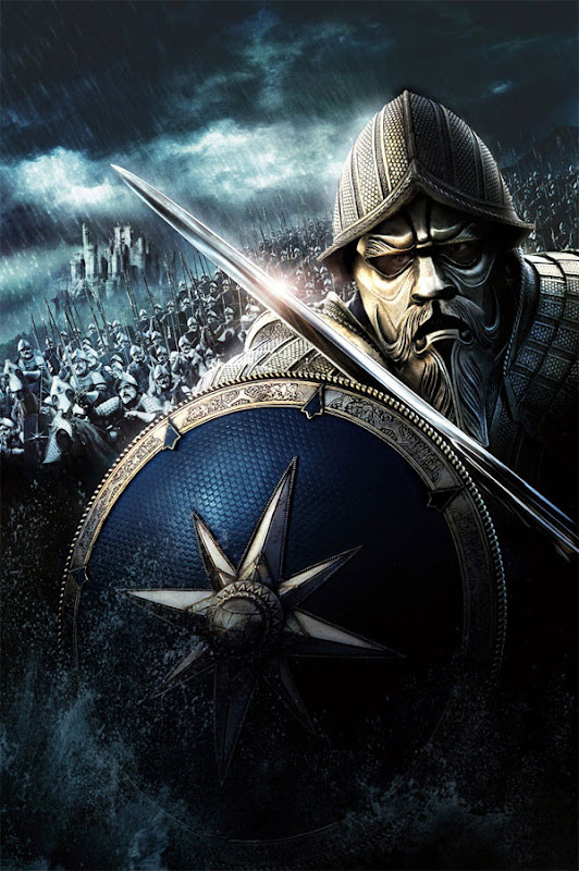 Prince Caspian King Miraz Army poster