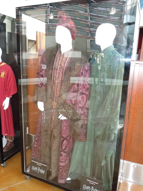 Professor Dumbledore and Lord Voldemort movie robes
