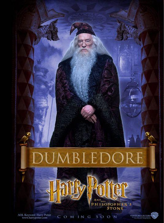 Harrry Potter Dumbledore poster