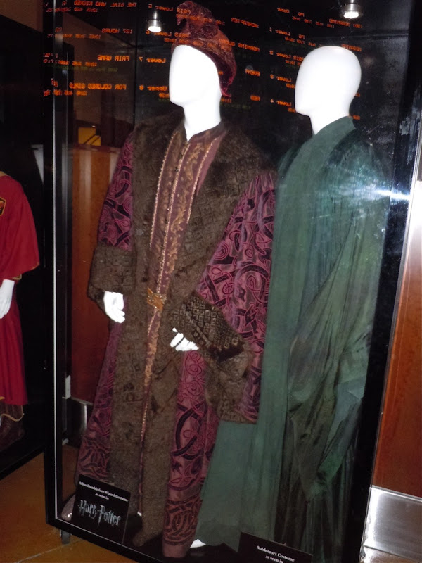 Professor Dumbledore and Lord Voldemort movie costumes