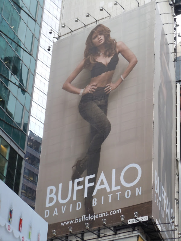 Buffalo fashion billboard