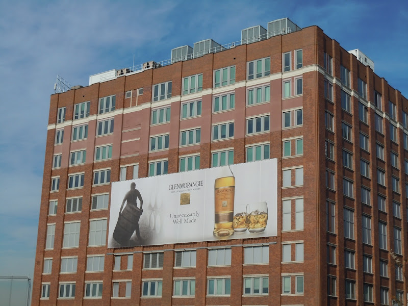 Glenmorangie Whisky billboard