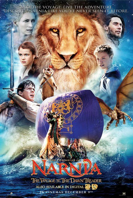 Narnia Voyage of the Dawn Treader movie poster