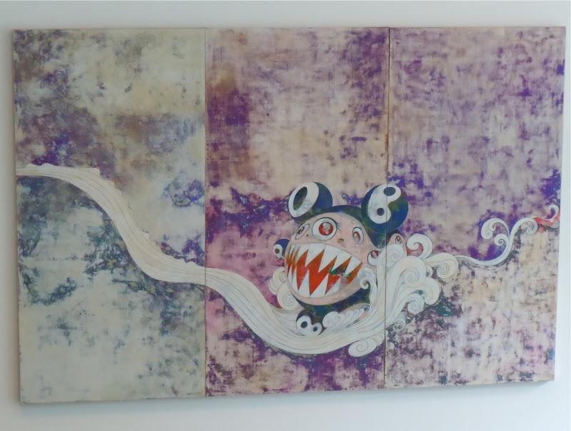 727 painting Takashi Murakami