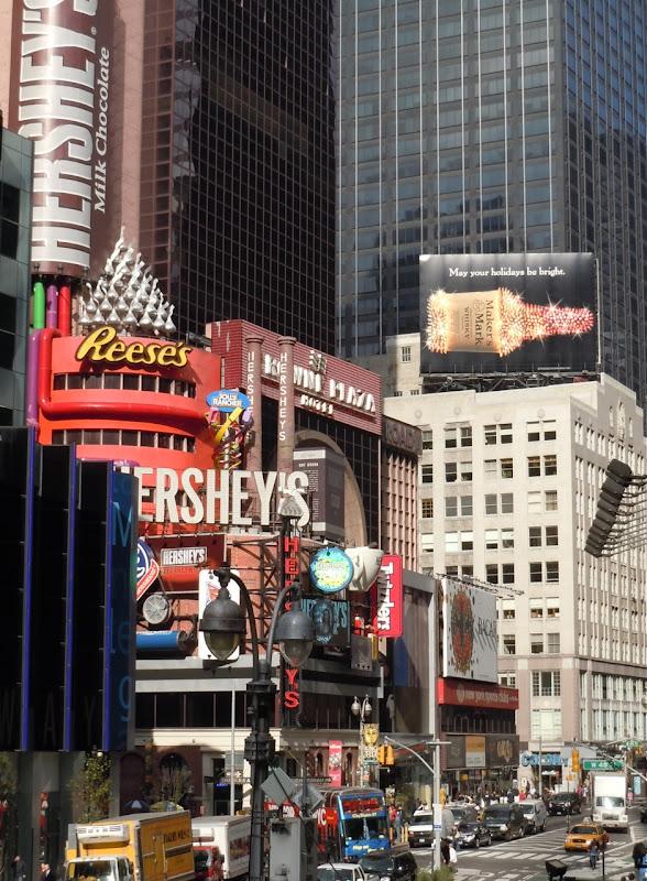 Dazzling Maker's Mark Broadway NYC billboard