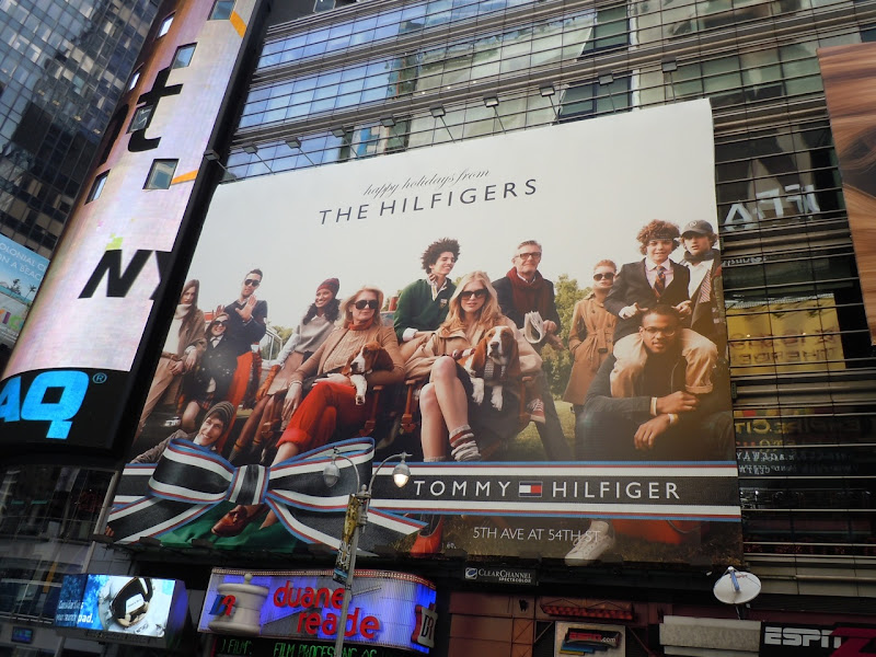 Tommy Hilfiger Holidays 2010 billboard