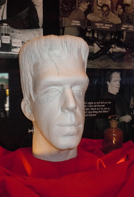 Fred Gwynne Herman Munster make-up