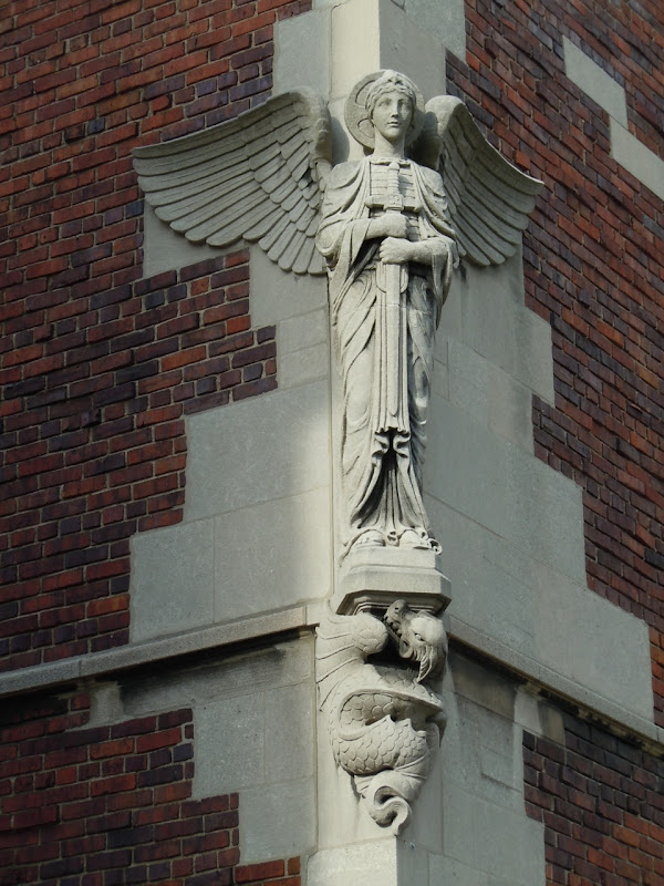 Guardian Angel Church masonry