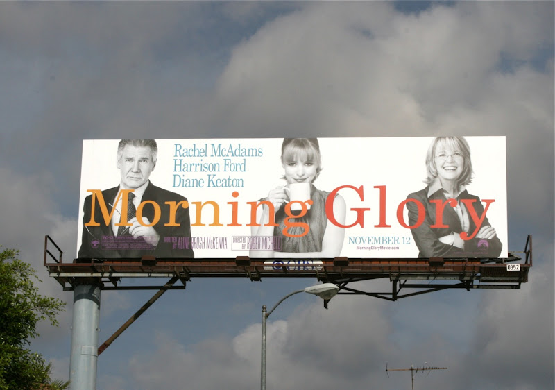 Morning Glory movie billboard