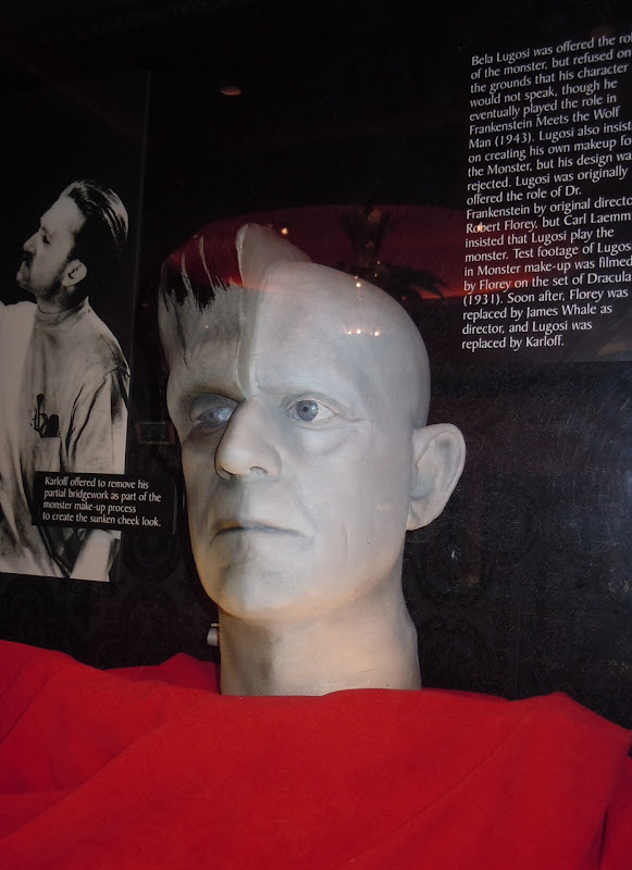 Frankenstein's monster movie make-up
