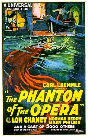 Classic Phantom of the Opera movie poster