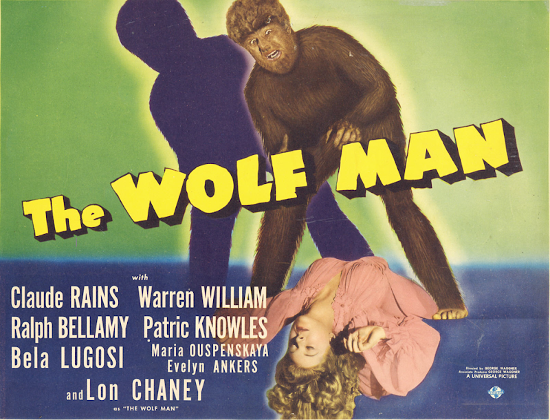 The Wolfman 1941 movie poster