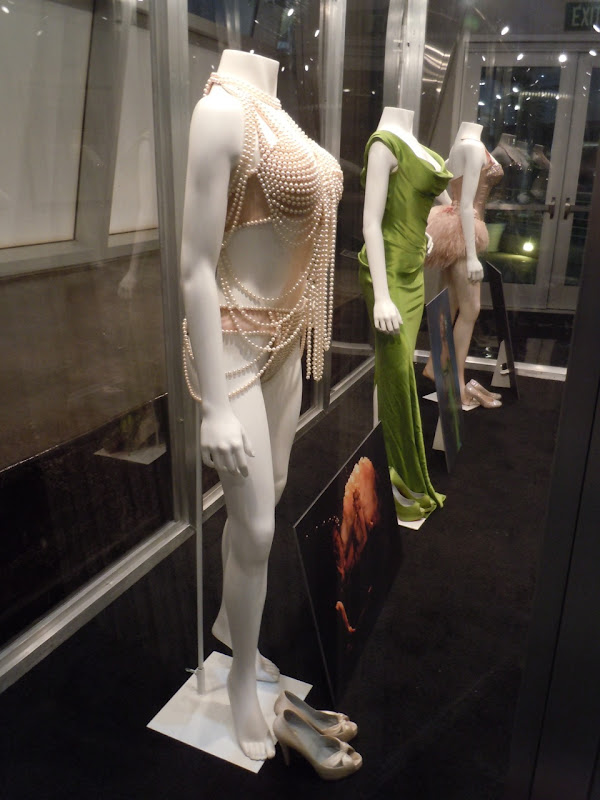 Christina Aguilera Burlesque movie costumes