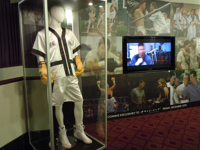 Mark Wahlberg The Fighter costume display