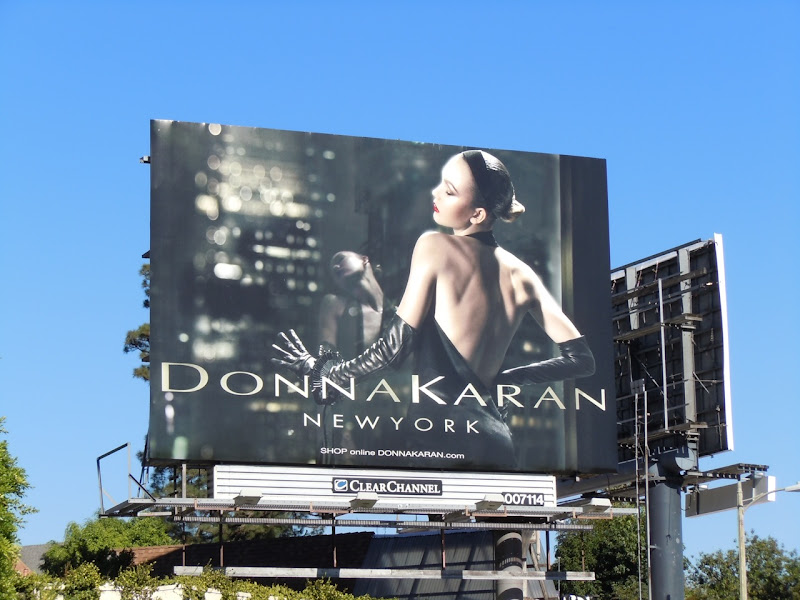 Donna Karan fashion billboard