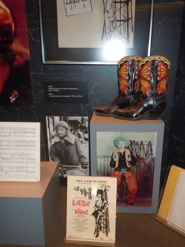 The Lucy Show cowboy boots
