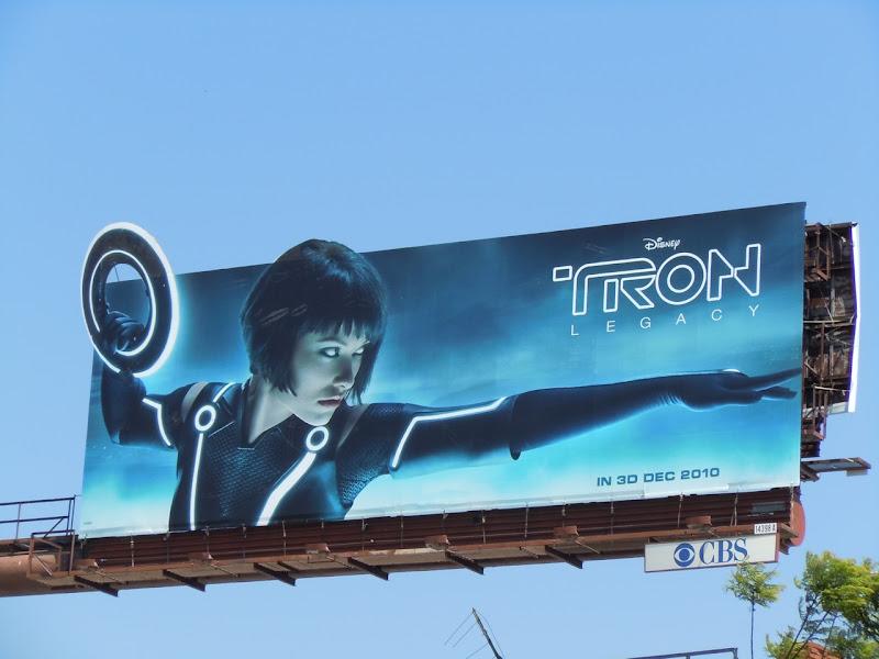 Quorra Tron Legacy billboard