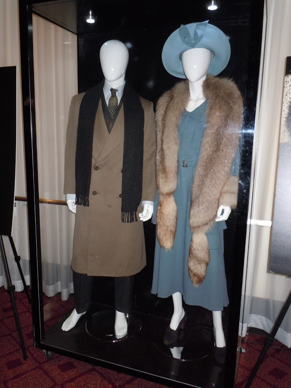 Colin Firth and Helena Bonham Carter King's Speech outfits