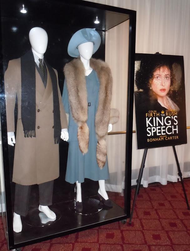 The King's Speech movie costume display