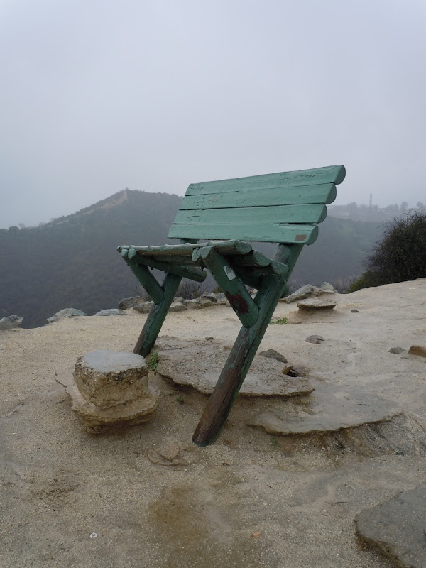 Empty seat Runyon Canyon