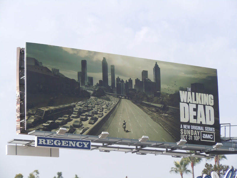 The Walking Dead TV billboard