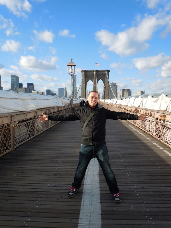 Jason on Brooklyn Bridge