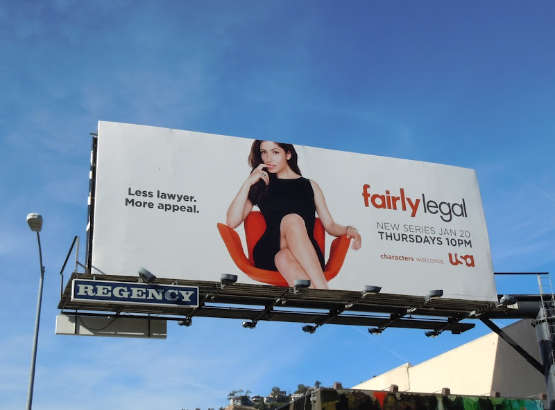 Fairly Legal USA TV billboard