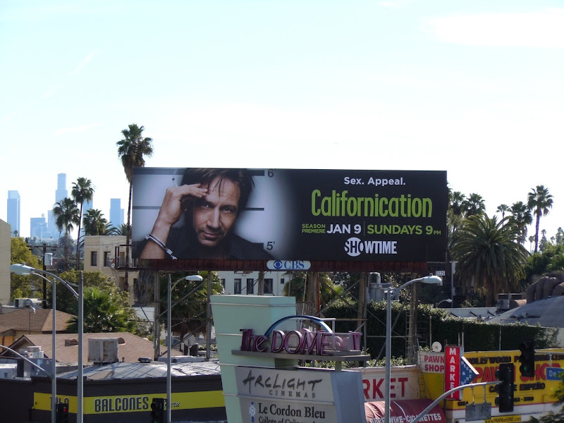 Californication season 4 TV billboard