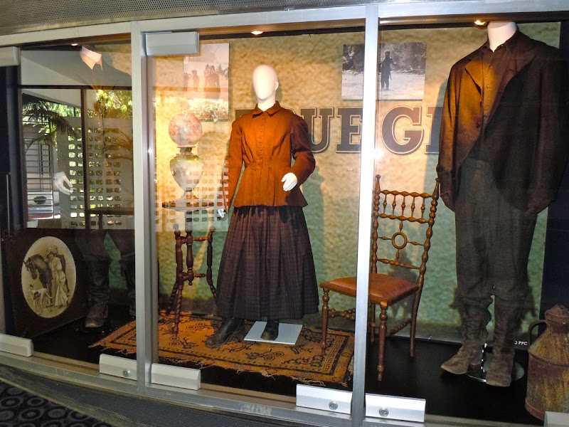 True Grit movie costume display